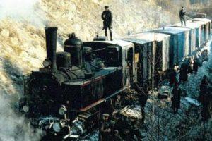 Rušeň 310.433 v TV filme Doktor Živago