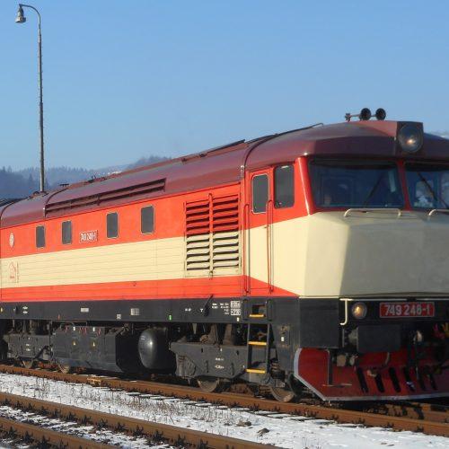 Motorový rušeň 749248 (Ex T 478.2012)