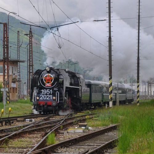Odchod osobitného vlaku Zr 31109 z Vrútok