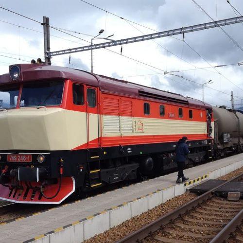 Požiarny vlak Sv 31909 v Martine