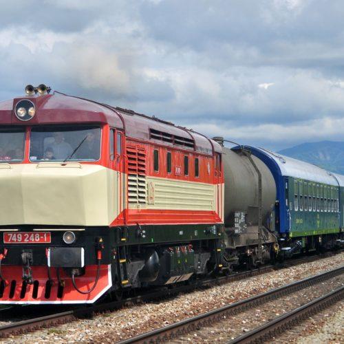 Požiarny vlak Sv 31909 pri Hornej Štubni