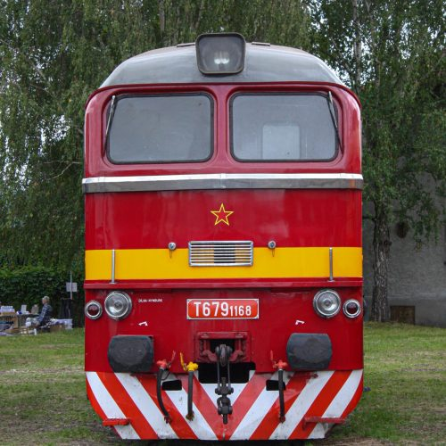 T 679.1168 na výstave vozidiel
